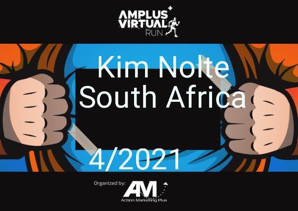 Kim Nolte South Africa... ... 4/2021